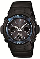CASIO G-SHOCK Tough Solar Radio Controlled MULTIBAND 6 AWG-M100A-1AJF (Japan Import)