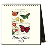 2013 Butterflies Desk Calendar