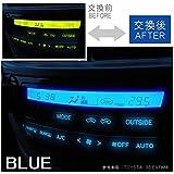 スカイライン R32 エアコン led パネル球 打ち変え エアコンパネル 交換 ホワイト ブルー ピンク