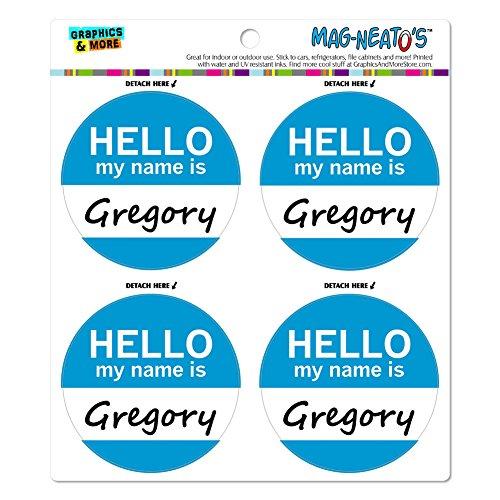 gregory-hello-my-name-is-mag-neato-s-tm-automotive-car-kuhlschrank-locker-vinyl-magnet-set