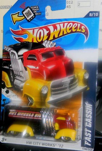 2011 MATTEL HOT WHEELS FAST CASSIN 138/247 OIL DELIVERY TRUCK 8 of 10 - 1