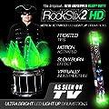 Screamin' Green - Led Light Up Drum Sticks - Rockstix Firestix from ROCKSTIX