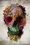 Poster Service Flower Skull Poster, 2…