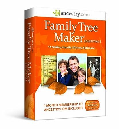 Family Tree Maker, Essentials
