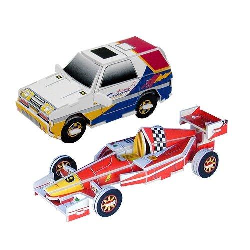 Jigsaw 3D Puzzle Transportation Series - Sports Car/ R.V.