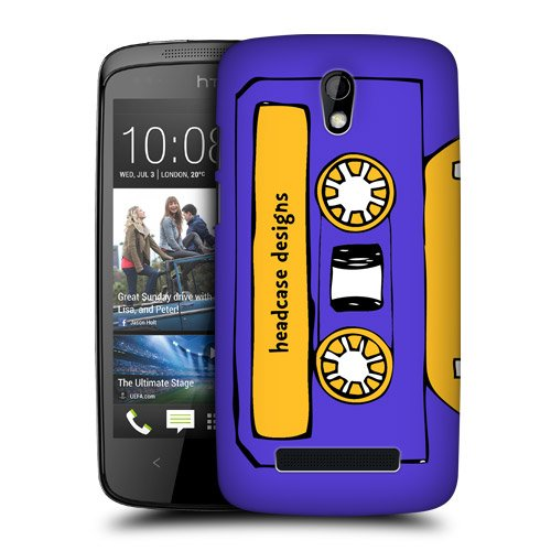 Head Case Designs Midnight Mixtapes Protective Snap-on Hard Back Case Cover for HTC Desire 500