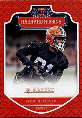 2016 Panini #290 Rashard Higgins Cleveland Browns Football Rookie Card