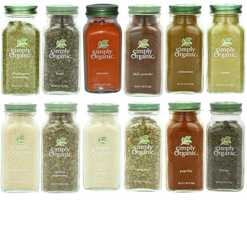 Simply Organic Gourmet Starter 12 Spices Gift