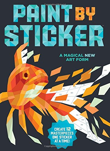 Paint by Sticker: Create 12 Masterpieces One Sticker at a Time! (Paint By Numbers Book compare prices)