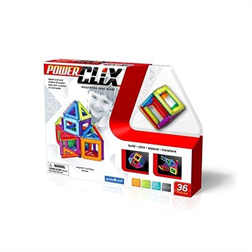 Guidecraft PowerClix 36 Piece Set - 1