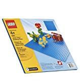 "LEGO Bricks & more Blue Building Plate - 32 x 32 Studs (10"" x 10"")"