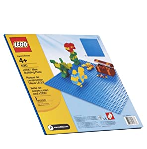 LEGO Blue Building Plate (10