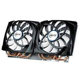 ARCTIC Accelero Twin Turbo 690 VGA Cooler for GTX 690, Dual Quiet 120mm PWM Fans, Extreme Cooling