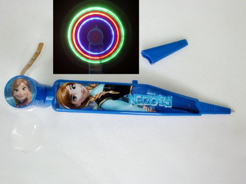 Ballpoint pen with fan デイズニーアナ [parallel import goods: light and snow Queen ( Frozen ) OA-0505