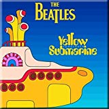 WOODBRASS CLUB Magneto Beatles Motivo Yellow Submarine Songbook 76 cm x 76 cm Magnets