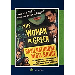 "Sherlock Holmes ""The Woman in Green"""