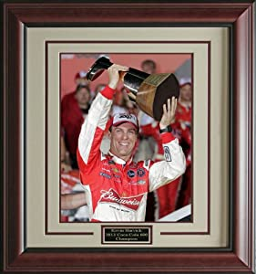 2015 Coca Cola 600 Champion Kevin Harvick photo matted and framed by Signature Royale