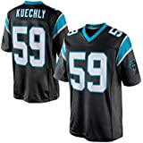 Mens Carolina Panthers Luke Kuechly #59 Black Limited Jersey