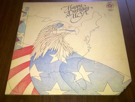 Happy Birthday U.S.A. (2 Lp Set) by Donnie Brooks, Pat Boone, Randy Nicklaus, Lyle Countryman, Tom Sullivan, Susie Allanson, Mike Curb, Jerry Cole & Paula Ruffin, Paul Revere, Dee Dee Henrichs, Lloyd Schoonmaker, Rick Tucker Jerry Naylor, Billy Joe Royal, Barry Goldwater, Fritz Hollings, Dorsey Burnette and Sean Morton Downey Jr, Sammy Davis Jr, Edward Kennedy