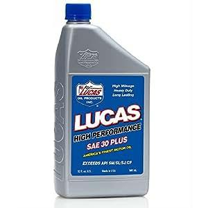 Lucas Oil 10053 Sae 30w Petroleum Motor Oil