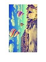 Huella deco Alfombra de Vinilo (Cielo/Multicolor)