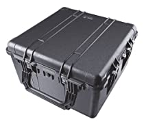 Pelican 1640 Case with Foam for Camera (Black)