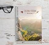 Reisetagebuch Neuseeland zum selberschreiben