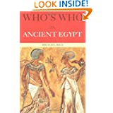 Who's Who in Ancient Egypt