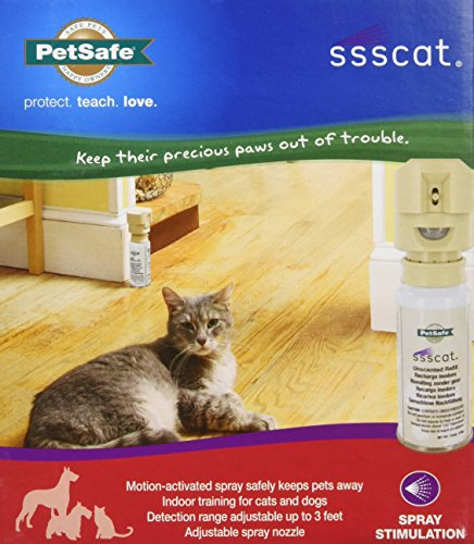 Multivet International CMV11217 Ssscat Refill Spray, 4.5-Ounce (Ssscat Refill Can compare prices)