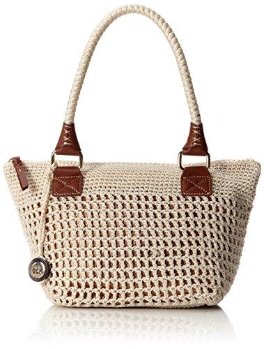 The Sak Cambria Medium Satchel Top Handle Bag, Natural Bronze, One Size