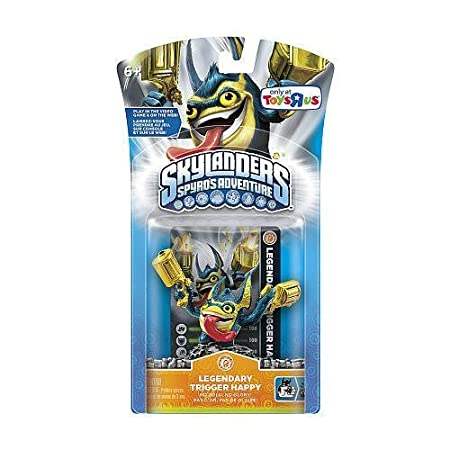 Skylanders Spyro's Adventure Character Pack Legendary Trigger Happy