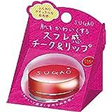 SUGAO スフレ感 チーク&リップ じんわりレッド 6.5g ランキングお取り寄せ