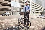 GOTHAM7 Citizen Bike 20 7-Speed Folding Bike with Alloy Frame (Graphite)