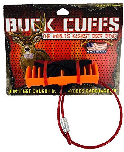 Buy Bargain Buck Cuffs - Deer Drag - Deer Handle - Drag Strap - Easy, Fast, Lightweight, Compact, Hu...