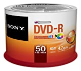 Sony DVD-R 4.7GB 50DMR47PP Single Side, Single Layer 4700 MB