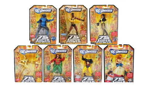 Buy Low Price Mattel Dc Universe Wave 14, Ultra Humanite Build-a-figure, Complete Set of 7 (B0051WJWLU)