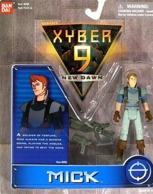 Mick Action Figure - Xyber 9: New Dawn