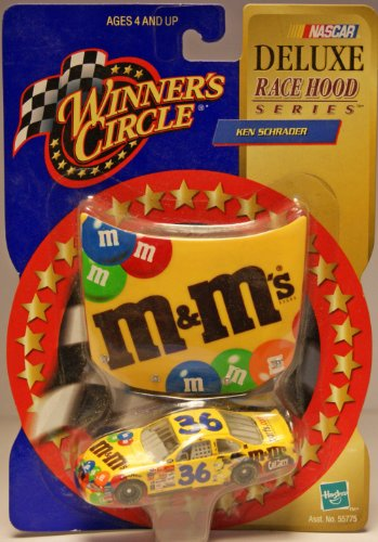 Winner's Circle #36 car Ken Schrader M&M's Brand Pontiac Grand Prix Deluxe Race Hood Series