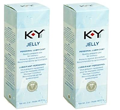 K-y Ky Jelly Personal Lubricant 2 Oz Tube Combo Pack