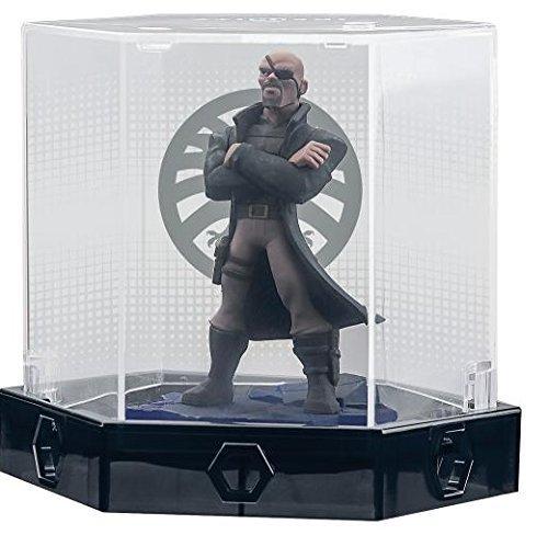 Disney - Disney Infinity: Marvel Super Heroes (2.0 Edition) Nick Fury Collectors Edition w/ Display Case (Marvel Disney Infinity Case compare prices)