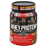 Six Star Elite Series Whey Protein Plus, Triple Chocolate, 2 lb (907 g)