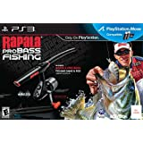Rapala Pro Bass Fishing with Rod Peripheral - Playstation 3 ~ Activision Publishing