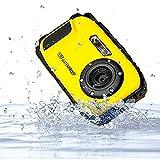 PowerLead Gapo G0521 2.7 Inch LCD Cameras16 MP Digital Camera Underwater 10m Waterproof Camera+ 8x Zoom(yellow)