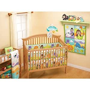 Fisher-Price Precious Friends 4-piece Crib Bedding Set