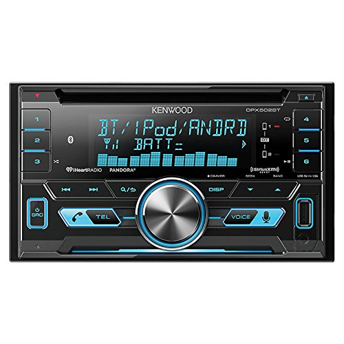 Kenwood DPX502BT Double-Din CD Receiver with USB Interface & Bluetooth (Car Radio Usb compare prices)