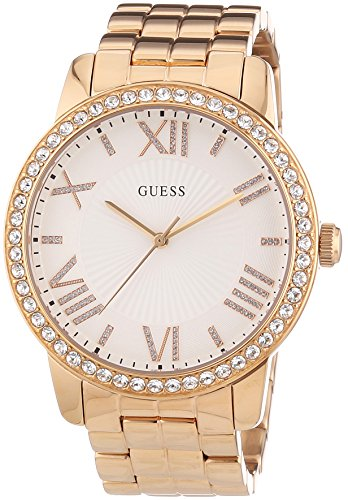 guess-womens-w0329l3-quartz-watch-with-white-dial-analogue-display-and-rose-gold-stainless-steel-bra