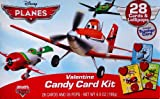 Disney Pixar Planes Valentine Candy Card Kit
