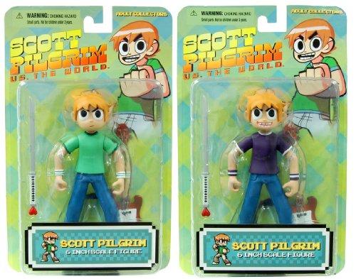 Buy Low Price Mezco Scott Pilgrim 6″ Figure Set Of 2 (B004XNOCWW)