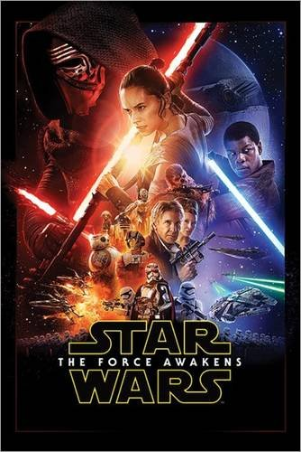 Poster Star Wars - The Force Awakens - manifesto risparmio, cartellone XXL