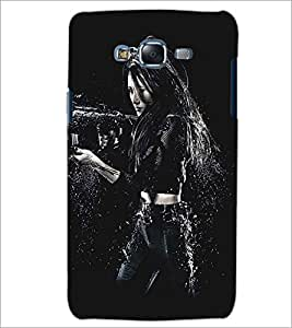 PRINTSWAG ACTION GIRL Designer Back Cover Case for SAMSUNG GALAXY J5